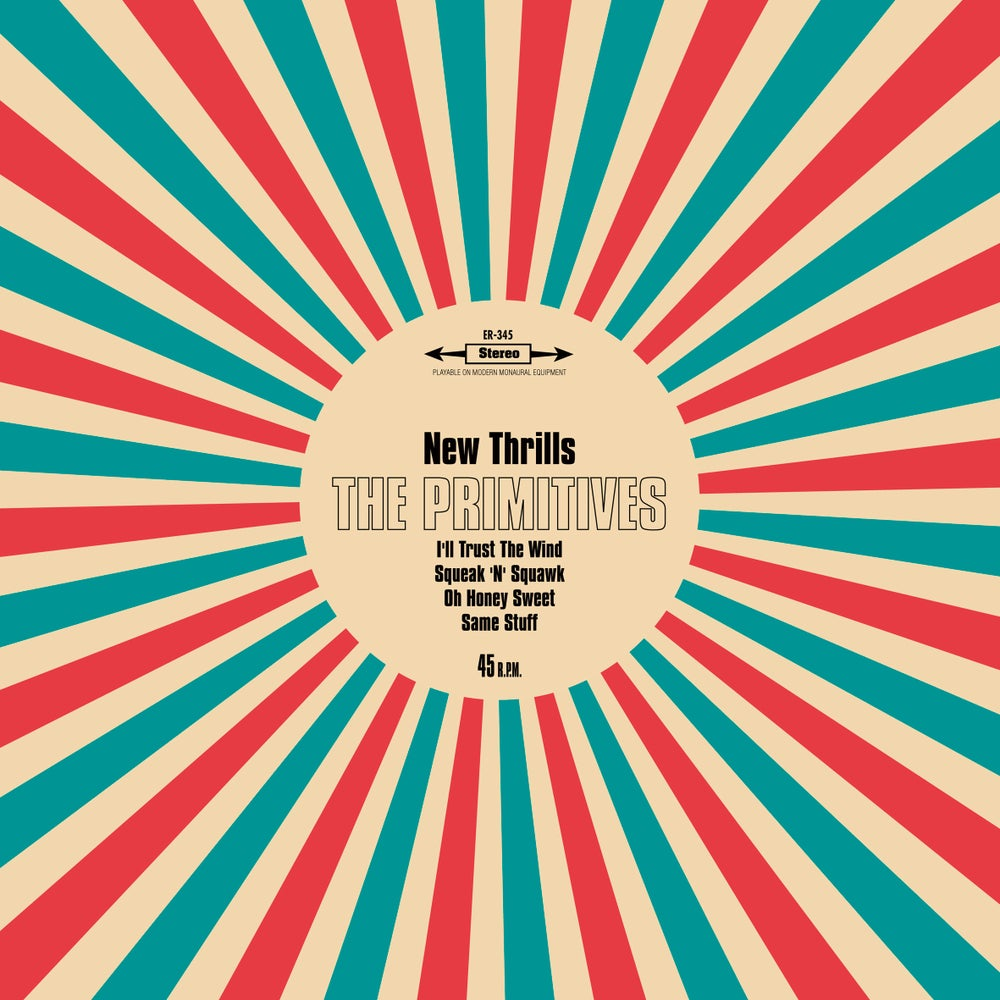 "Image of THE PRIMITIVES - New Thrills (Limited edition maxi-single 10""vinyl w/MP3s)"