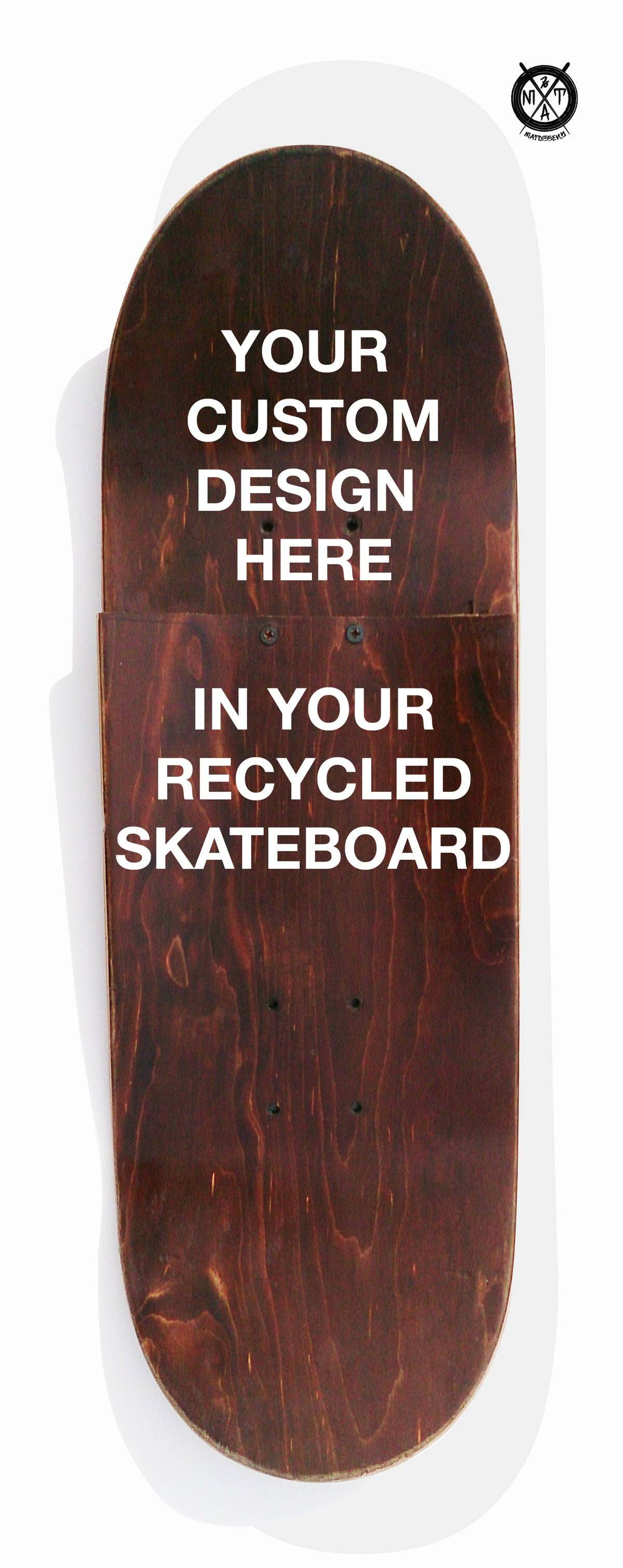Image of Skate Art (Commision Artwork in your recycled Skateboard) by @matdisseny
