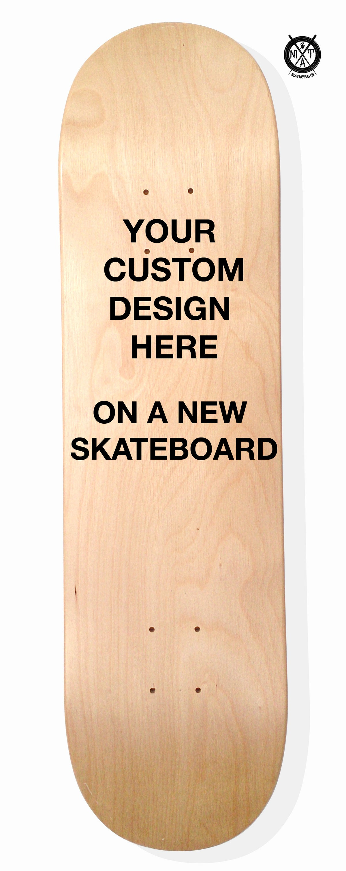 Image of Skate Art (Commision Artwork on a New Skateboard) by @matdisseny