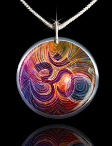 Image of Sacred Om Energy Pendant