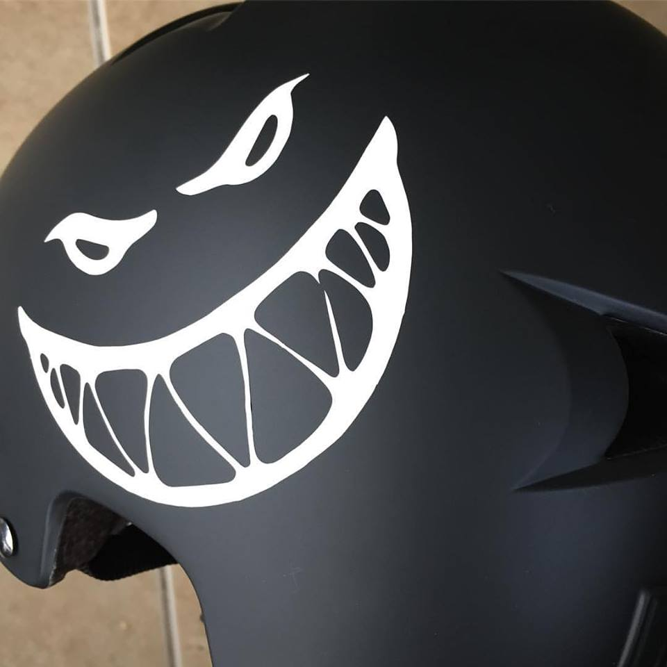 Image of CUSTOM VINYL DECAL - SINGLE COLOUR