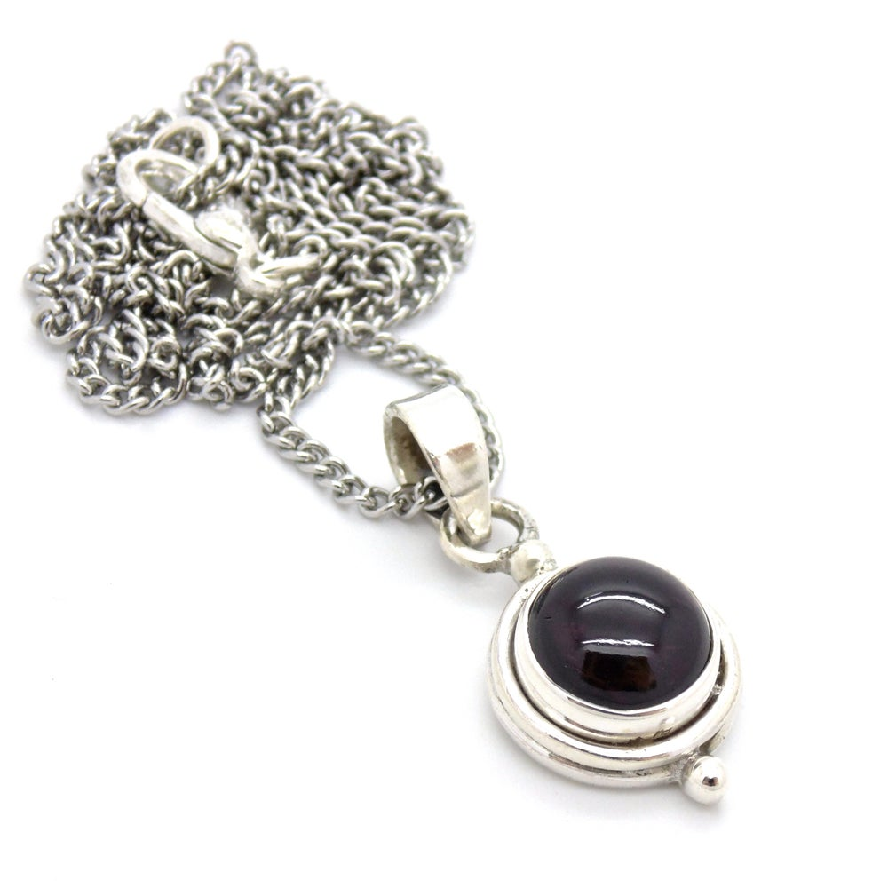 Image of Garnet Witchcraft Necklace