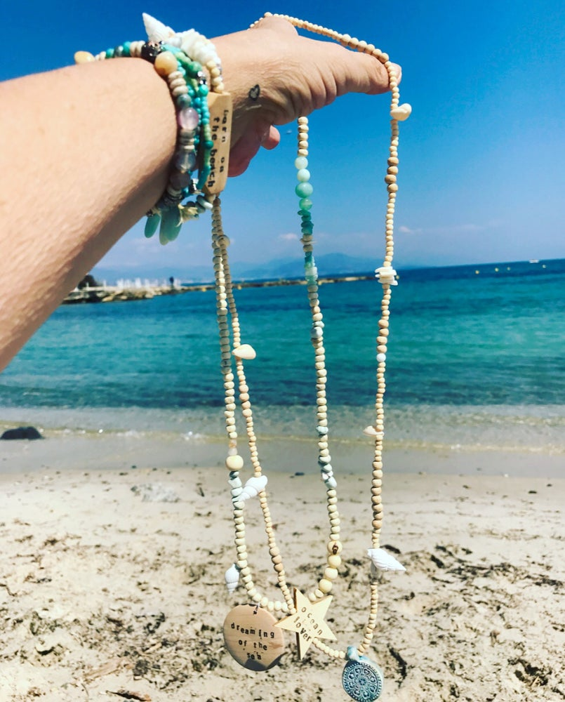Image of COMBO BEACH 2 NECKLACES