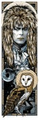 Image of LABYRINTH - GOBLIN KING OF KINGS - Jareth art print