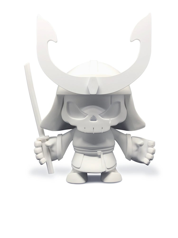 Image of Skullhead Samurai - Blank Edition