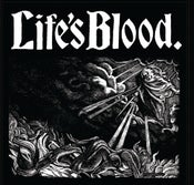 "Image of LIFE'S BLOOD ""HARDCORE A.D. 1988"" LP+ CD+ CS +TS"