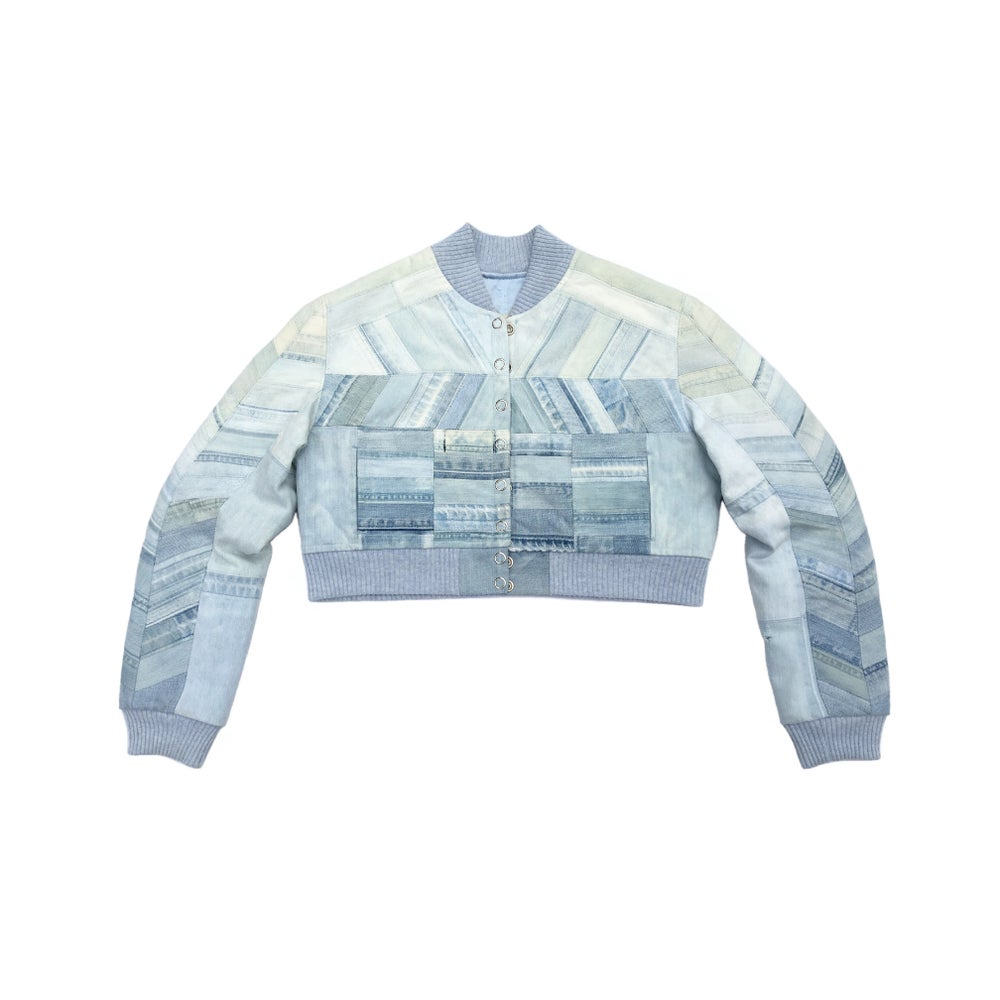 Image of Recycled Denim Bomber