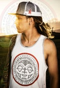Image of Tahiti Tank Top  (gray/white)