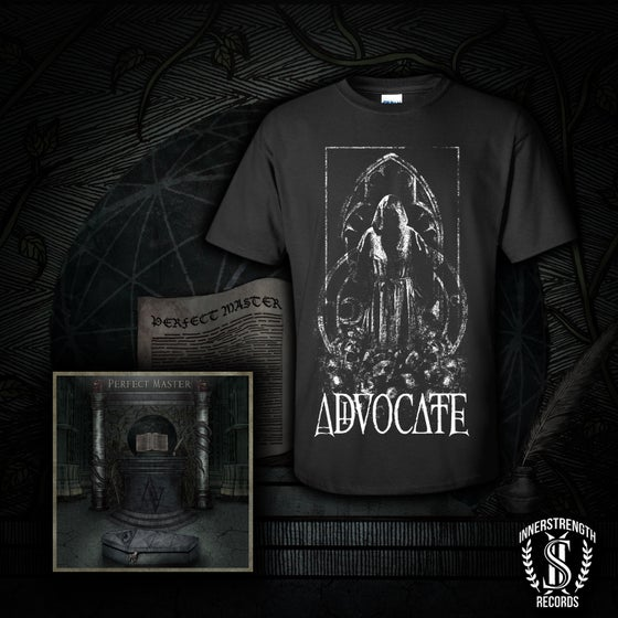Image of Hooded Figure Shirt and CD