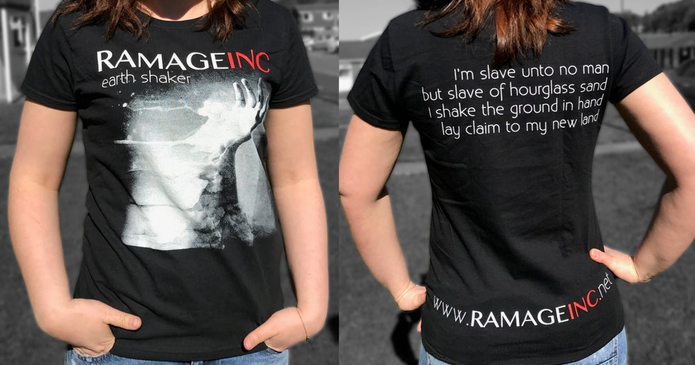 "Image of Ramage Inc ""Earthshaker"" T-shirt"