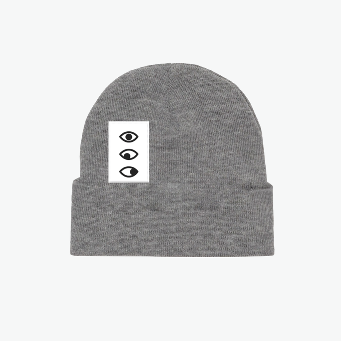 Image of 'Five Eyes' Grey Beanie