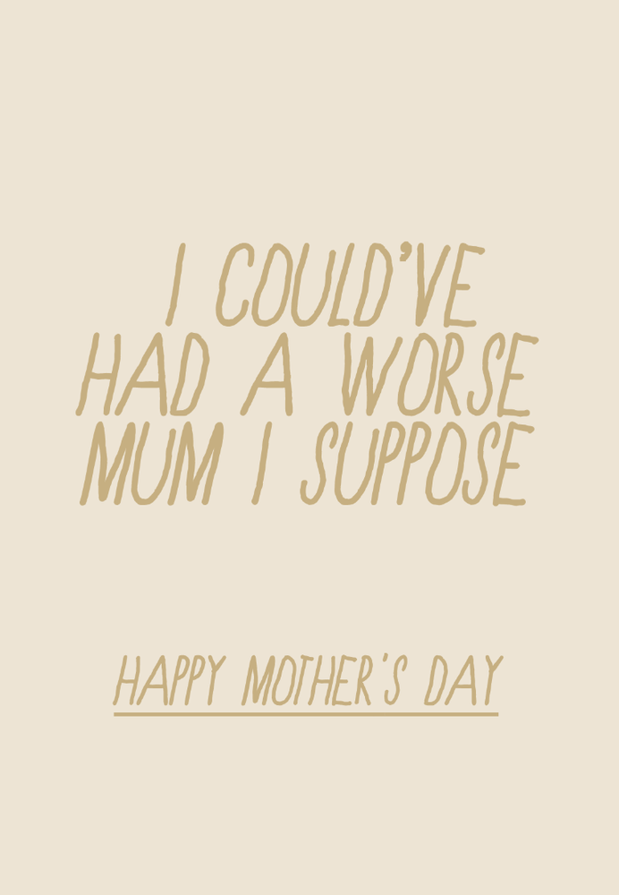 Image of mother's day - worse mum