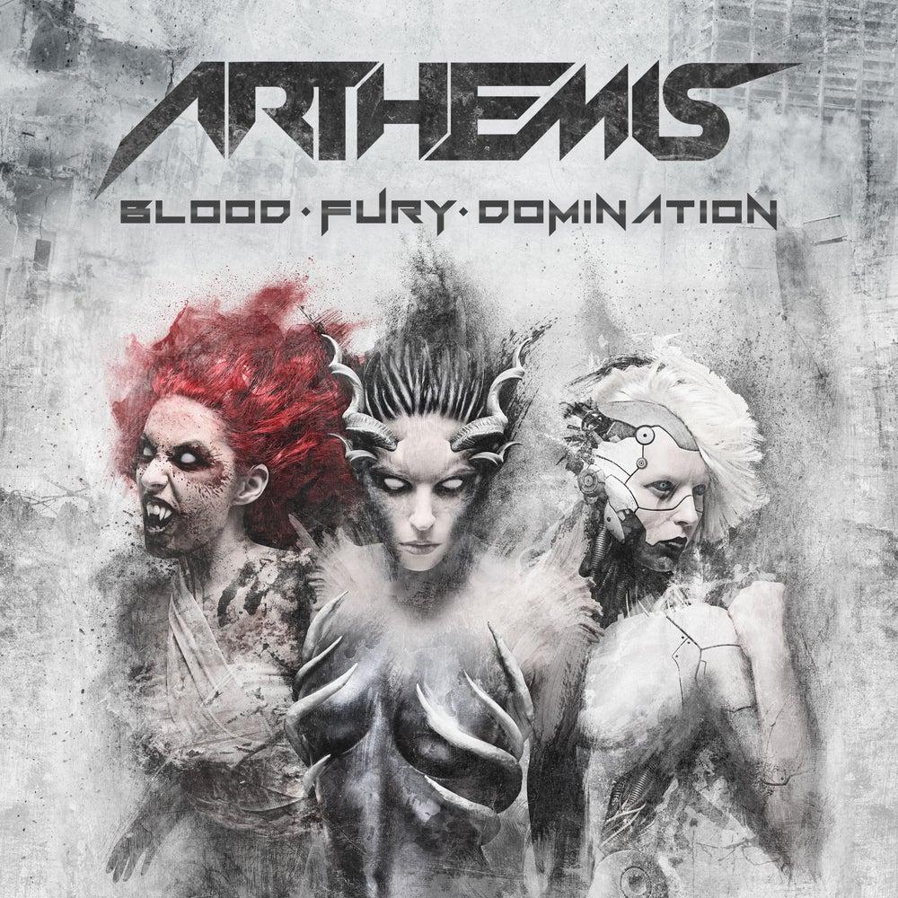 Image of ARTHEMIS - BLOOD-FURY-DOMINATION