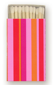 Image of Mod Matches in Pink Stripe • 100 Bulk Order