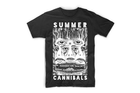 Image of SUMMER CANNIBALS FACE TEE