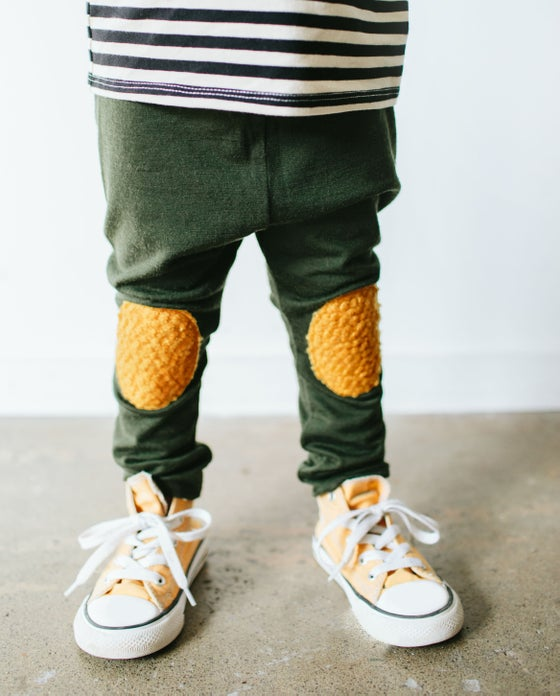 Image of Pine Merino leggings