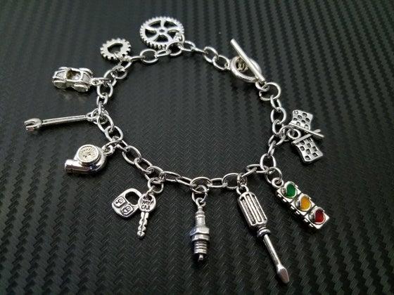 Image of Car Part Charm Bracelets