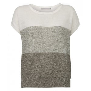 Image of Three colours linen knit
