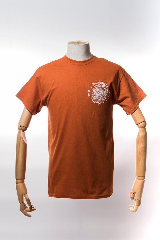 Image of Monkey Climber APE shirt I Rust