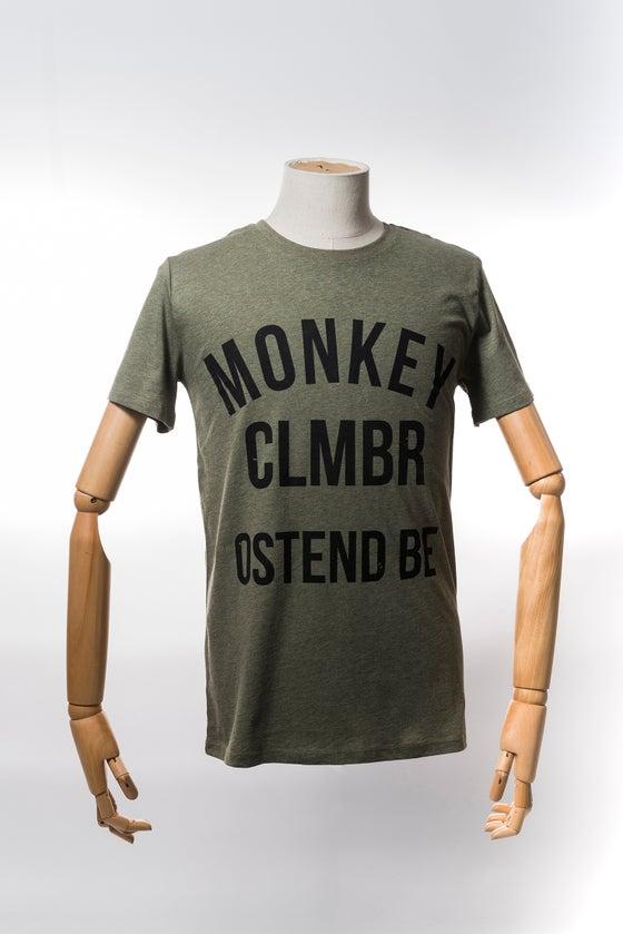 Image of Monkey Climber Ostend shirt I Heather Khaki