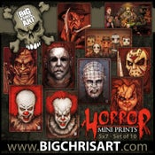 Image of Horror Set - 5x7 Mini Prints (10 prints in total)