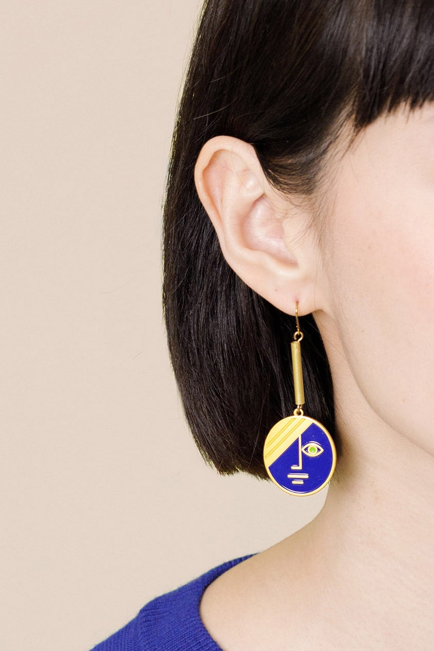 Image of Large Eclipse Earrings