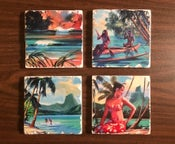 "Image of ""Island Life"" Coaster Set"