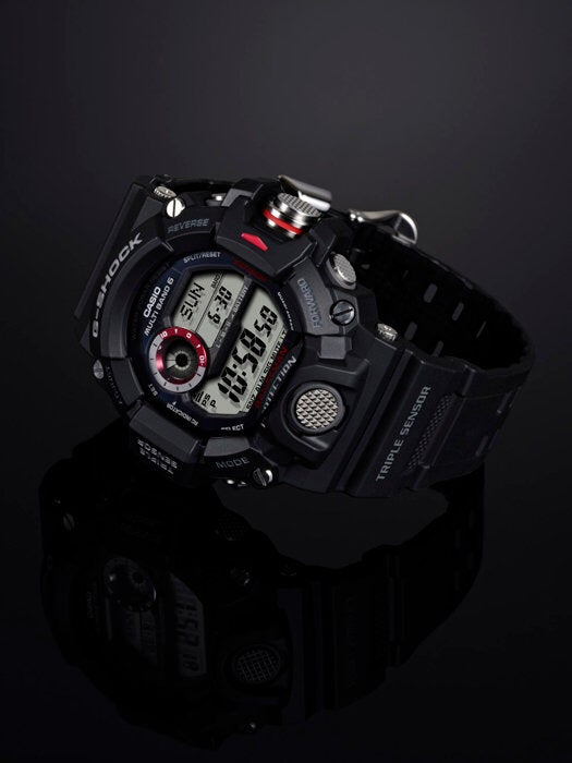 Image of Triple Sensor G-Shock Rangeman - Black