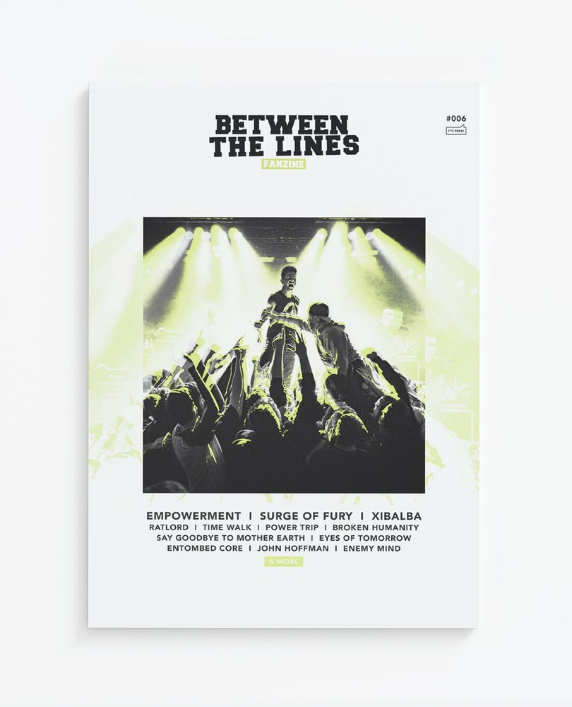 Image of BETWEEN THE LINES ZINE #006 - PRE-ORDER