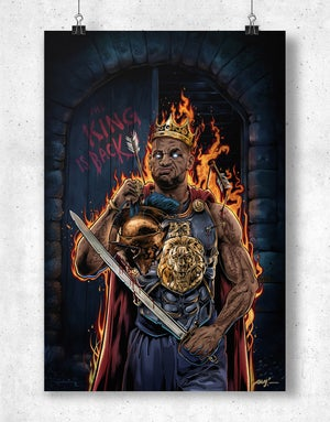"LeBron ""The King's Back"" - Bam! Bam! Bam!"