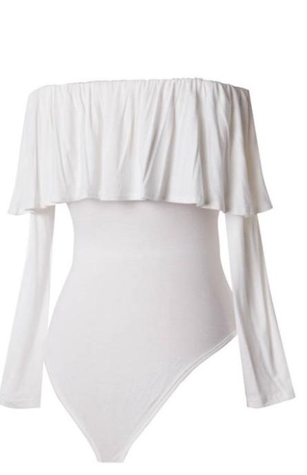 Image of Ruffle Bodysuit