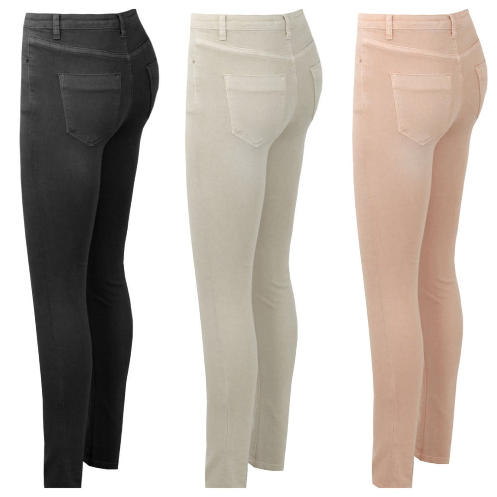 Image of Rose Super stretch skinny jeans