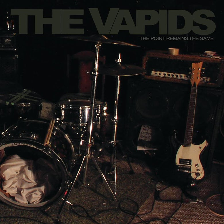 """Image of THE VAPIDS - THE POINT REMAINS THE SAME"""" LP - OUT NOW!!!"""