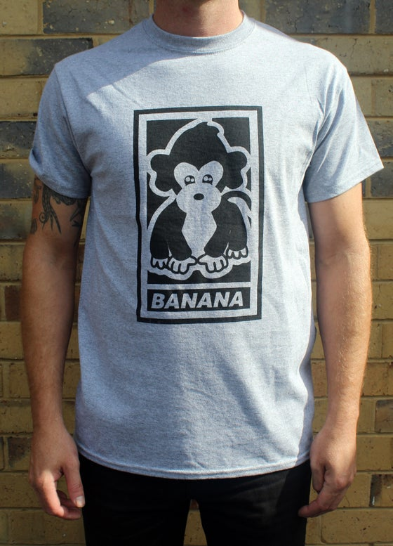 "Image of Malarkey ""Banana"" Tee Grey"