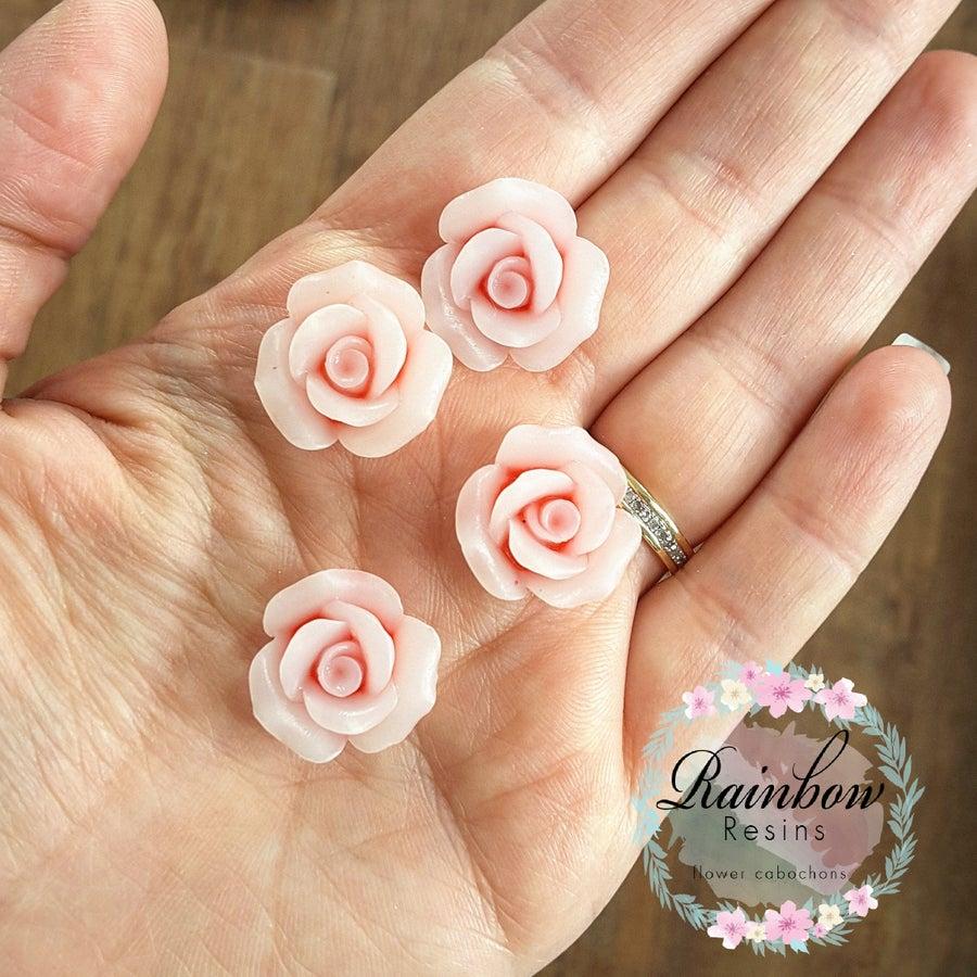 Image of Dusky pink matt roses x 5