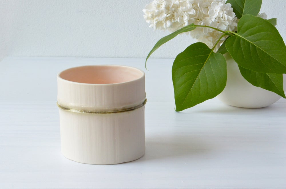 Image of BAMBOO CANDLE HOLDER