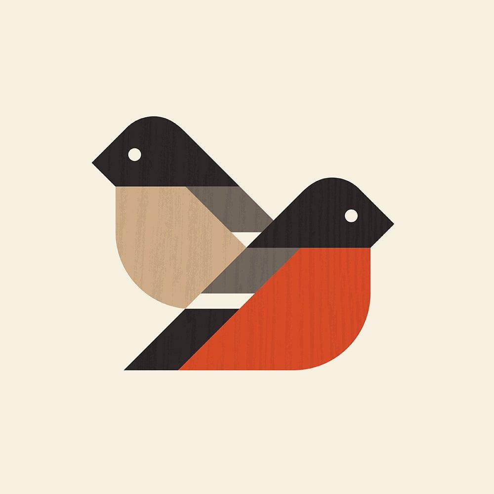 Image of Bullfinch Artprint (European Finches Series)