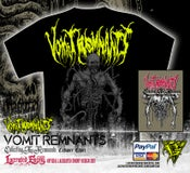 Image of VOMIT REMNANTS - Cadaver Tshirt