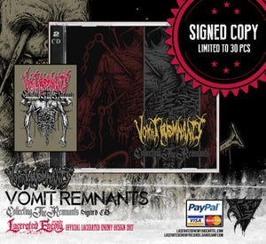 Image of VOMIT REMNANTS - Collecting The Remnants SIGNED Double CD