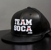 Image of Team Soca Hat Leather Version 1