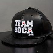 Image of Team Soca Hat Leather Version 1