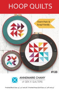 Image of Hoop Quilts Pattern - Hard Copy
