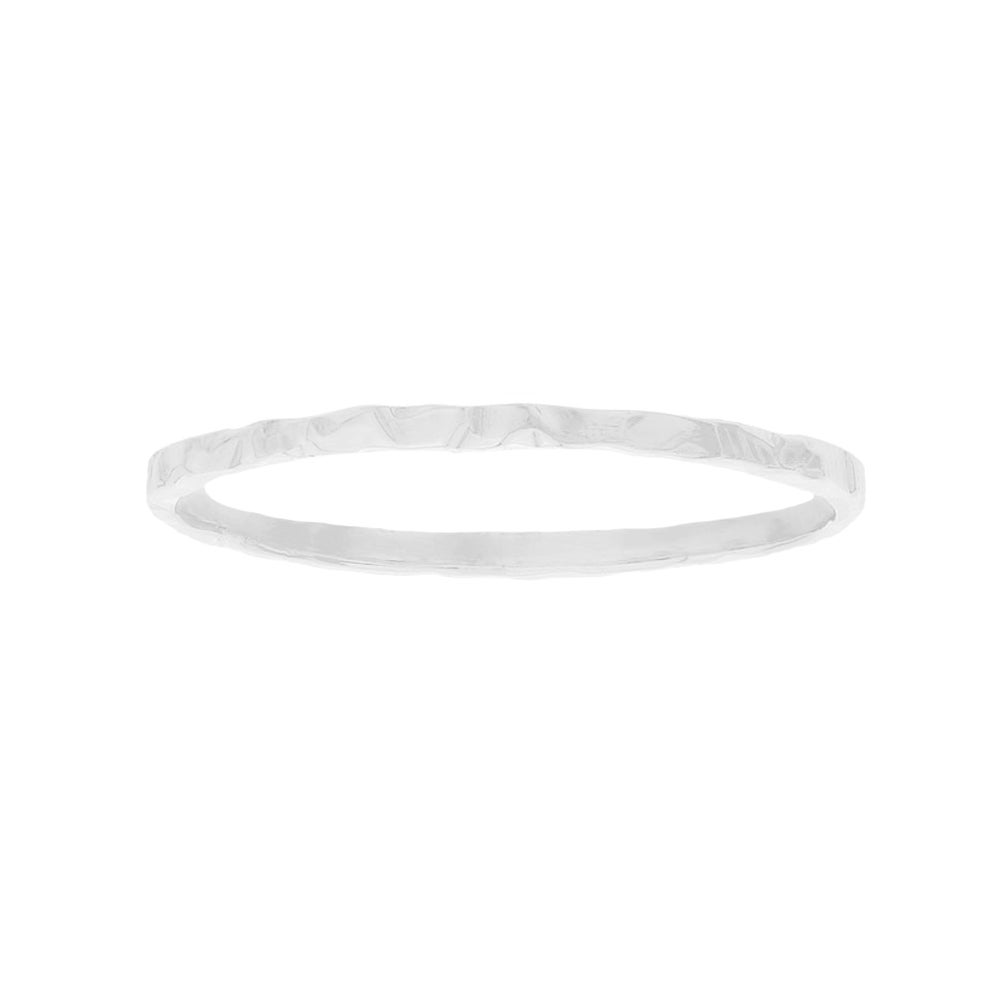 Image of Silver Thread Stacking Ring