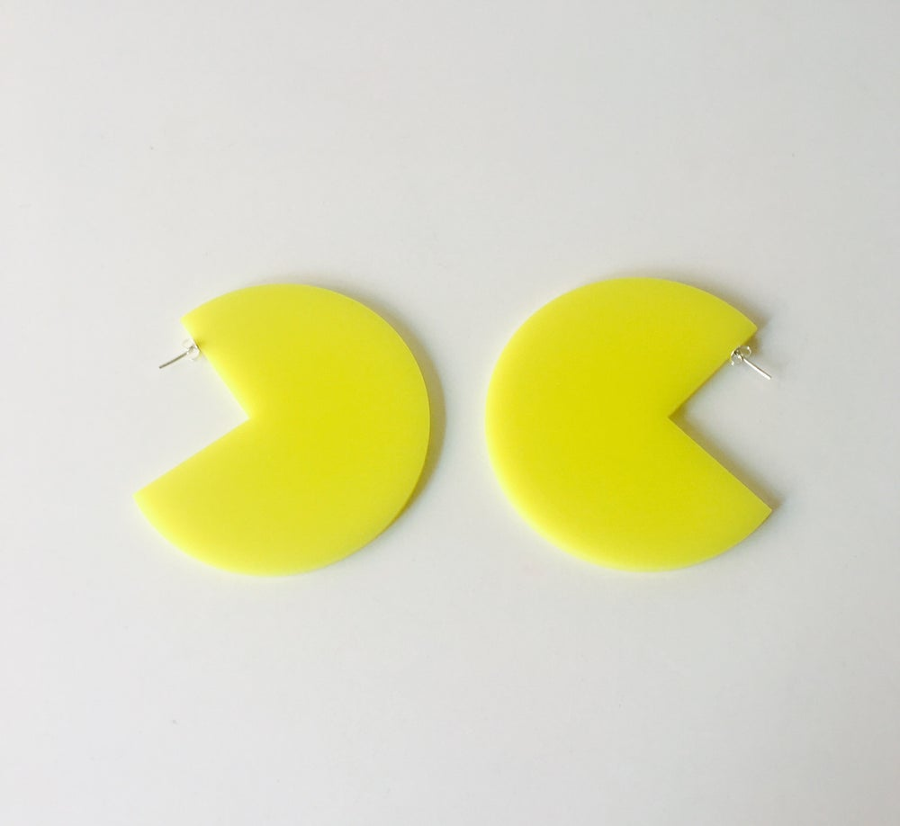 Image of Fever Earrings Yellow