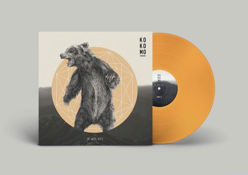 Image of IF WOLVES LP repress 2017