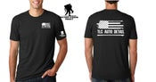 Image of Limited Edition Black TLC Auto Detail / Wounded Warrior Tee Shirt