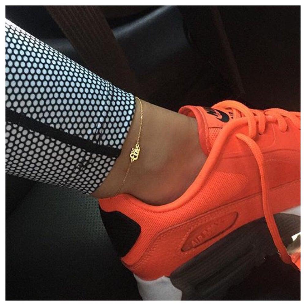 Image of Custom Anklet (read description)