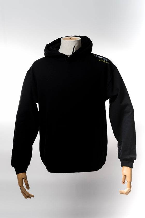 Image of Monkey Climber Streetwise hoodie I Black