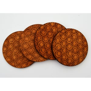 Image of Circle Design Coasters