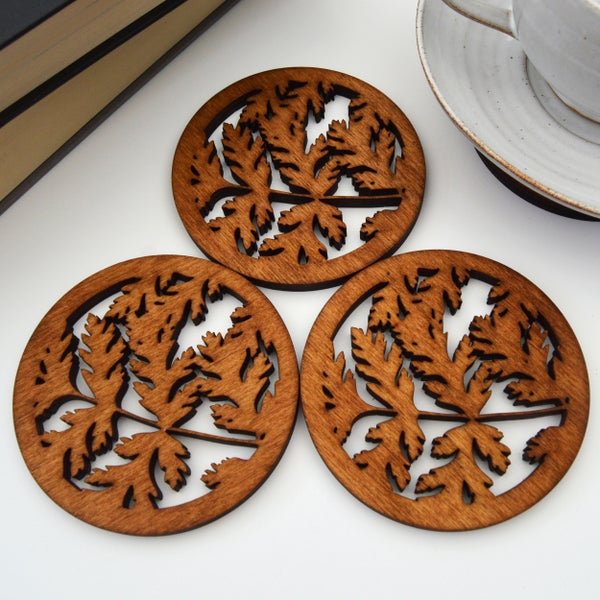 Image of Sweet Ciceley Coasters
